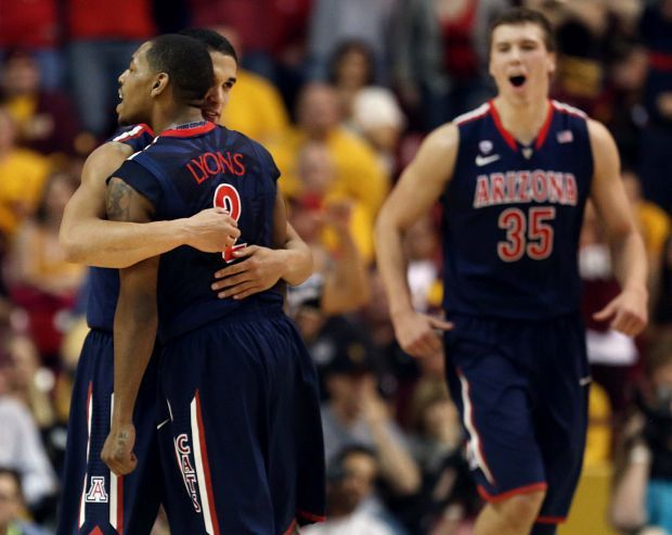 Arizona vs. Arizona State college basketball