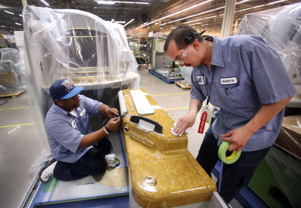 Work on luxury airliners has B/E flying high again