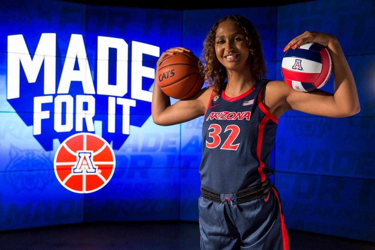 Lauren Ware made a major decision — basketball over volleyball — just after arriving at the UA