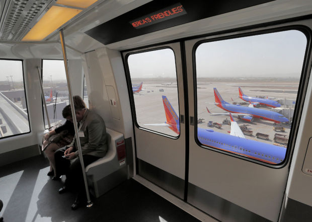 New PHX Sky Train debuts at Sky Harbor airport