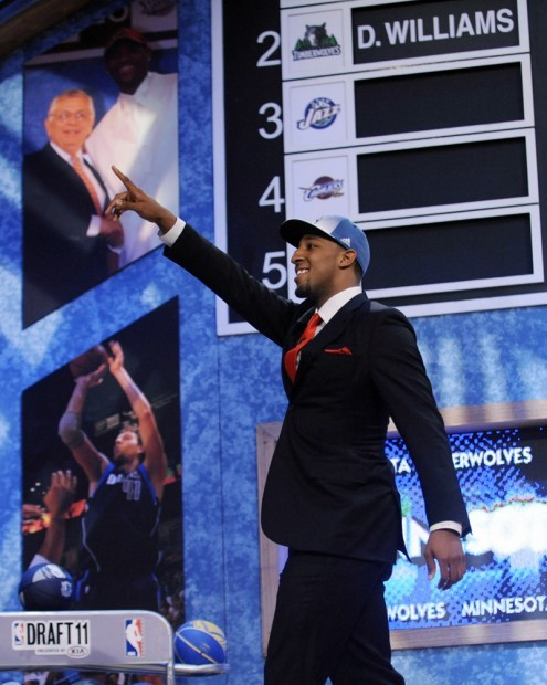 UA's Derrick Williams drafted 2nd overall by NBA Timberwolves