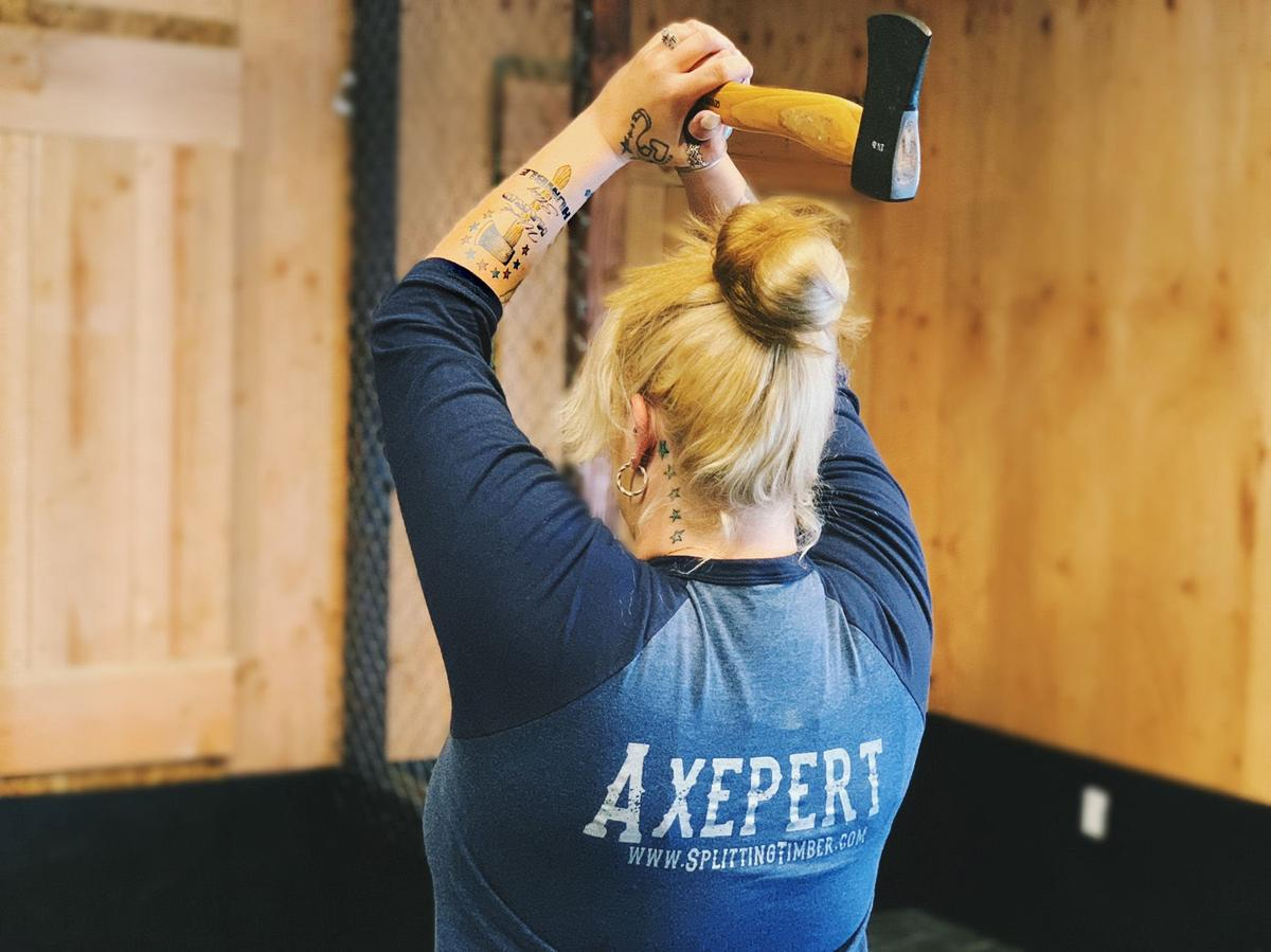 Splitting Timber