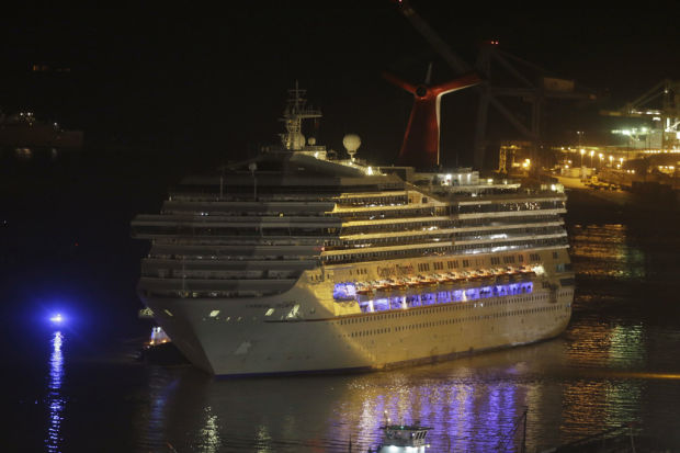Horror cruise ends: 'Let me off, let me off!'