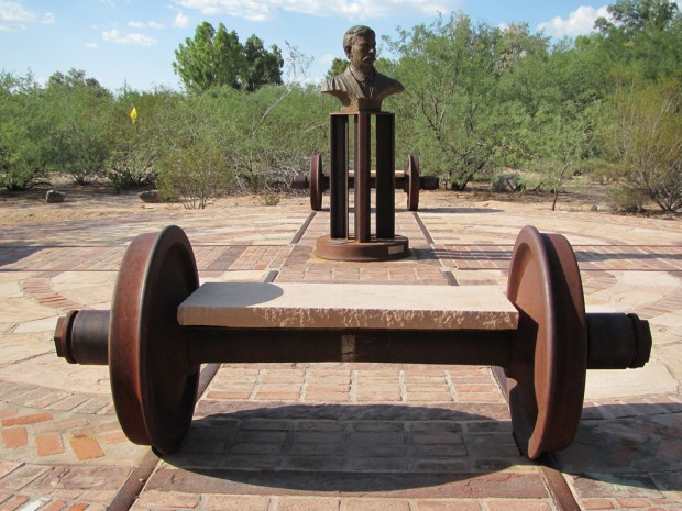 Tucson Oddity: Local monument defines on-track