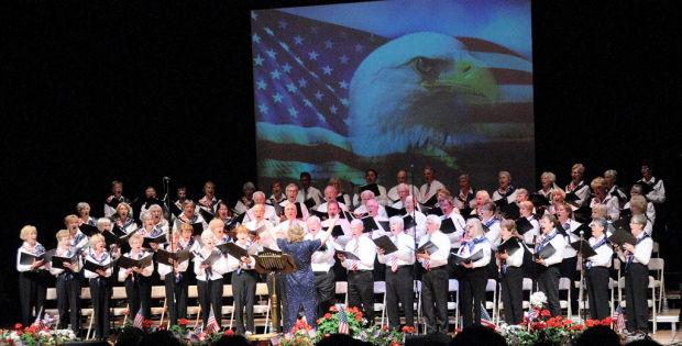 SaddleBrooke Singers raise their voices