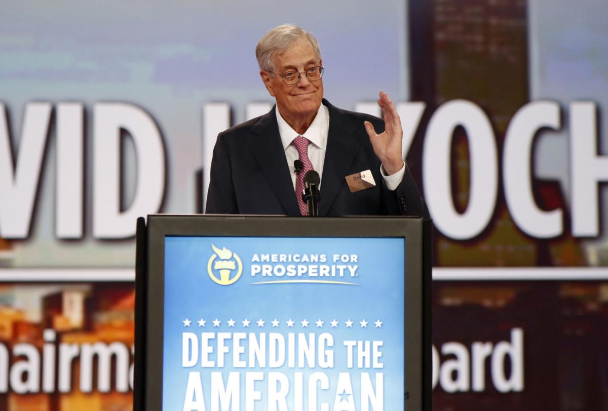Charles David Koch We Know Who You Are >> Billionaire David Koch Major Donor To Conservative Causes Dies At