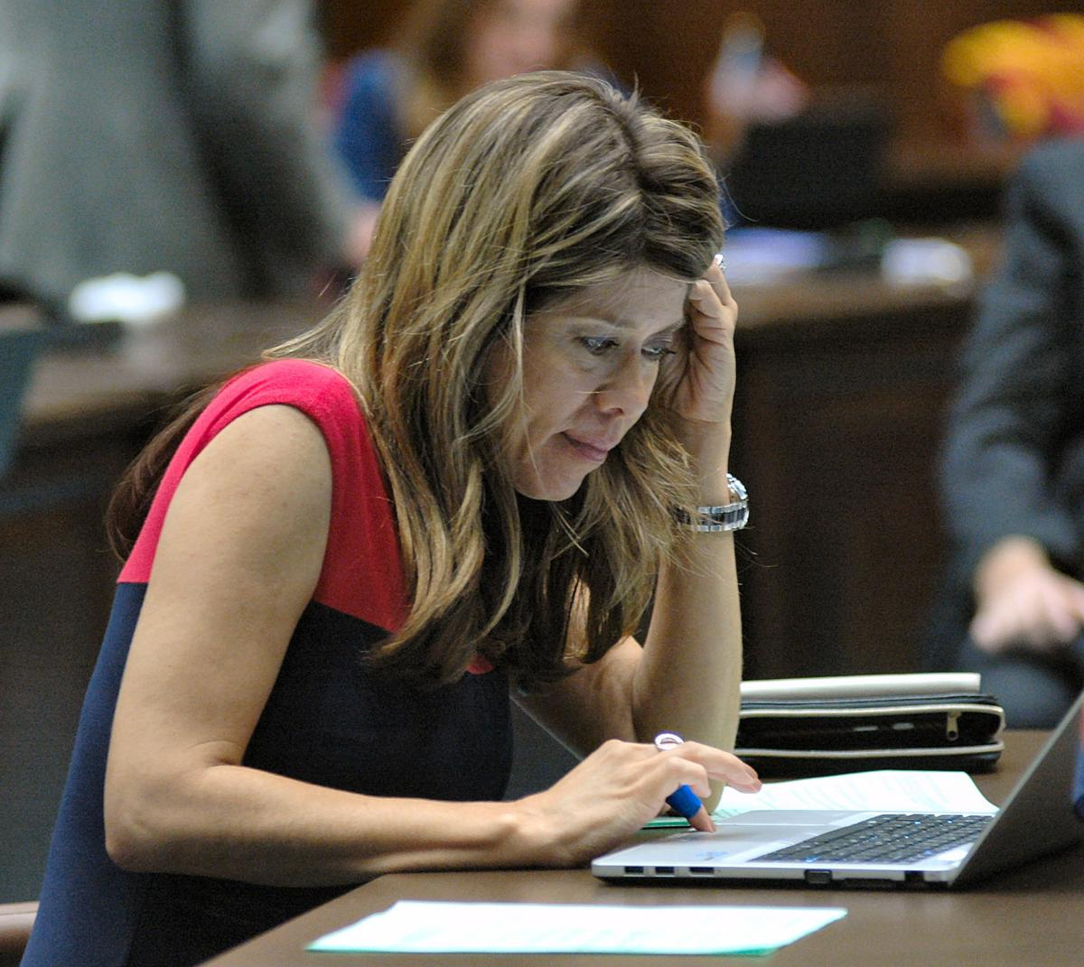 House Minority Leader Rebecca Rios