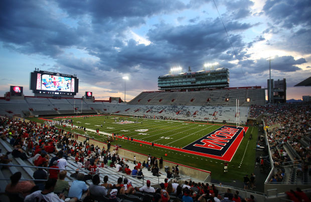 Arizona football scrimmage at renovated Arizona Stadium