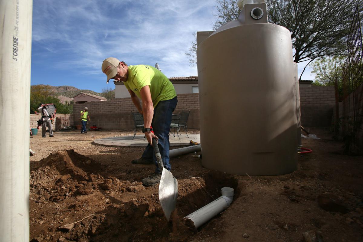 Water Harvesting Rebates Are Now Saving Water Tucson