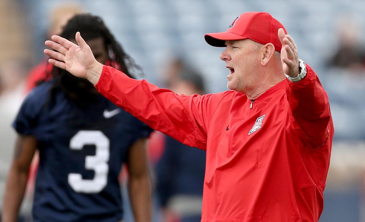 separation shoes 3dae0 ff114 LB coach Scott Boone won t be back at Arizona  ex-Wildcats RB coach Calvin  Magee named OC at New Mexico