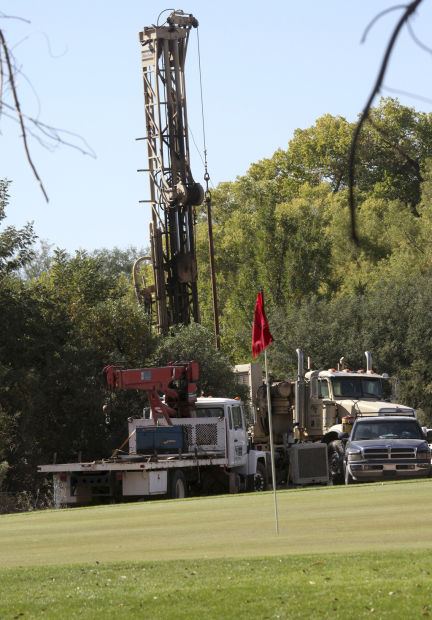 Well drilling in Tanque Verde Wash