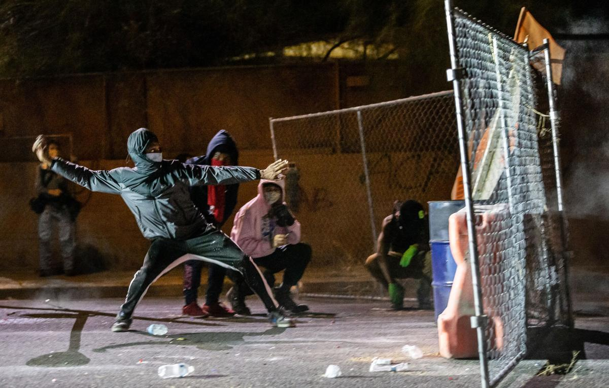 Second day of protests in Tucson