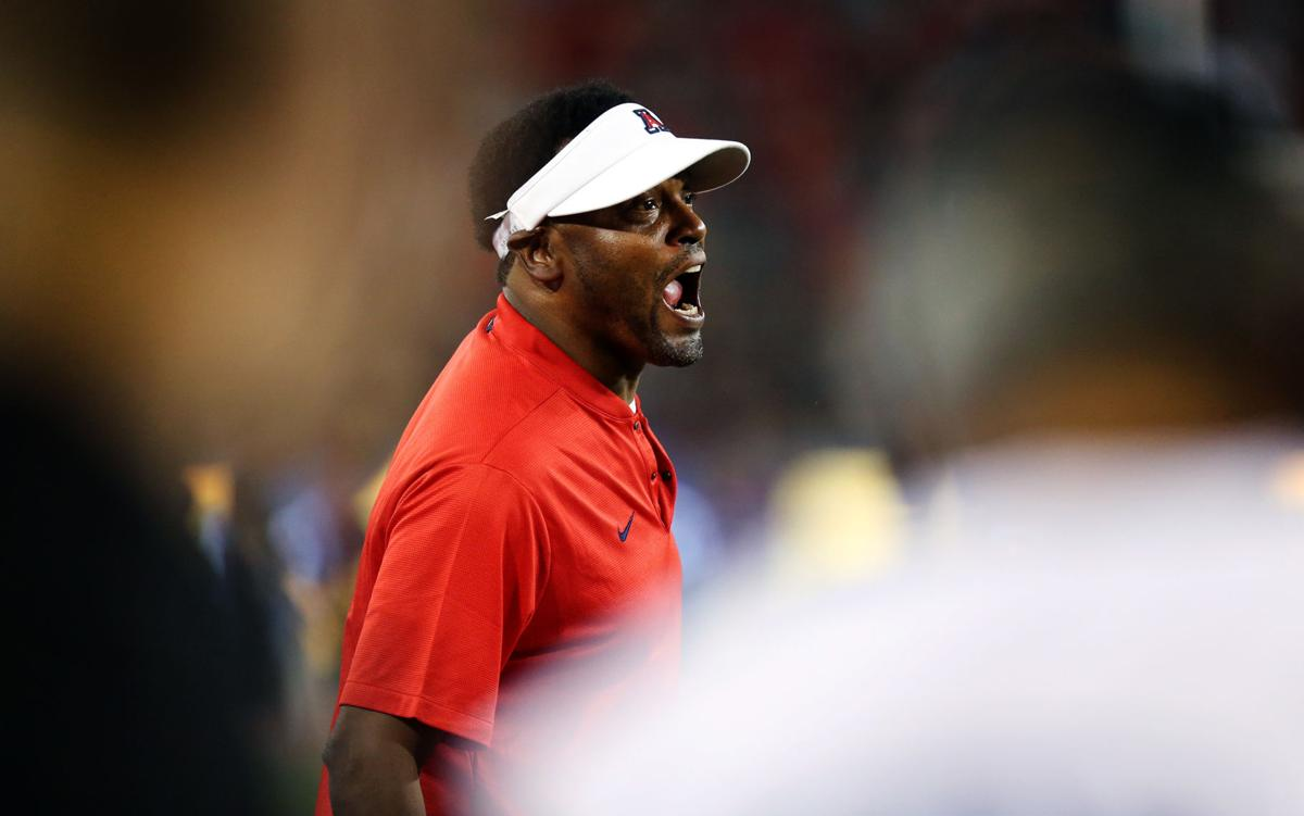 0befee39300 Kevin Sumlin on Arizona Wildcats  matchup with USC   We ve got our ...
