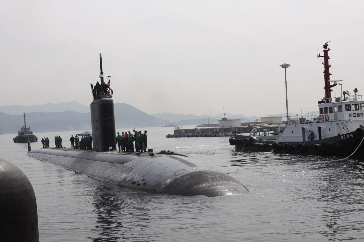 Tucson's namesake Navy attack-sub visits Chinhae during deployment