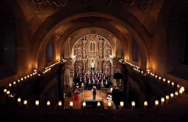 San Xavier music, sights are spectacular