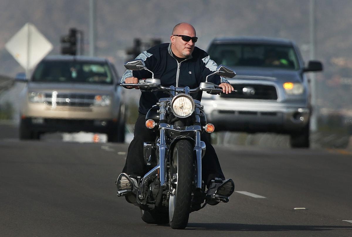 Motorcycle helmet law