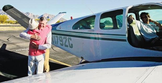 WW II pilot flies into his past