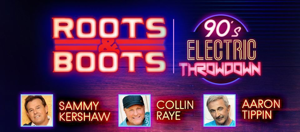 Roots and Boots 90s Electric Throwdown
