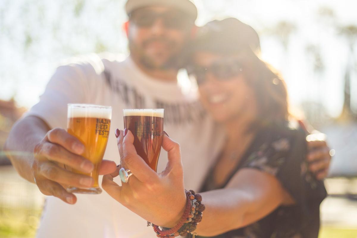 Celebrating beer