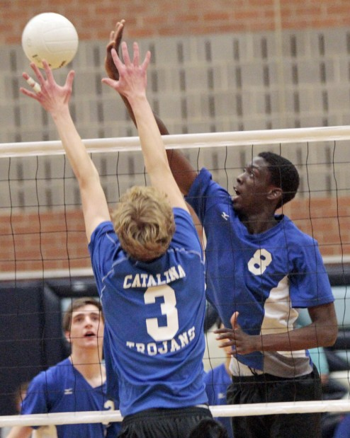 boys Volleyball: Trojans again win TUSD Invitational