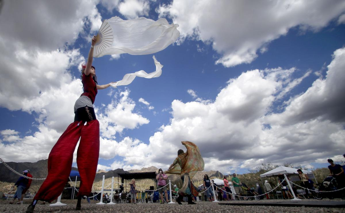 Sunday, December 18 — Enjoy a circus arts variety show