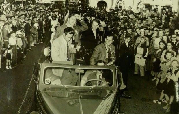 "Nov. 17, 1940: Parade celebrates ""Arizona"" movie premiere in Tucson"