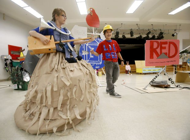 5 teams from Magee Middle School to compete in Odyssey of the Mind World Finals