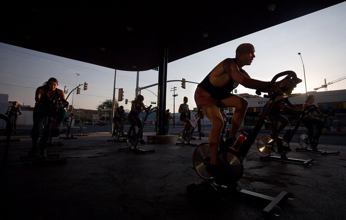 Spin Class, Let's Sweat, Tucson