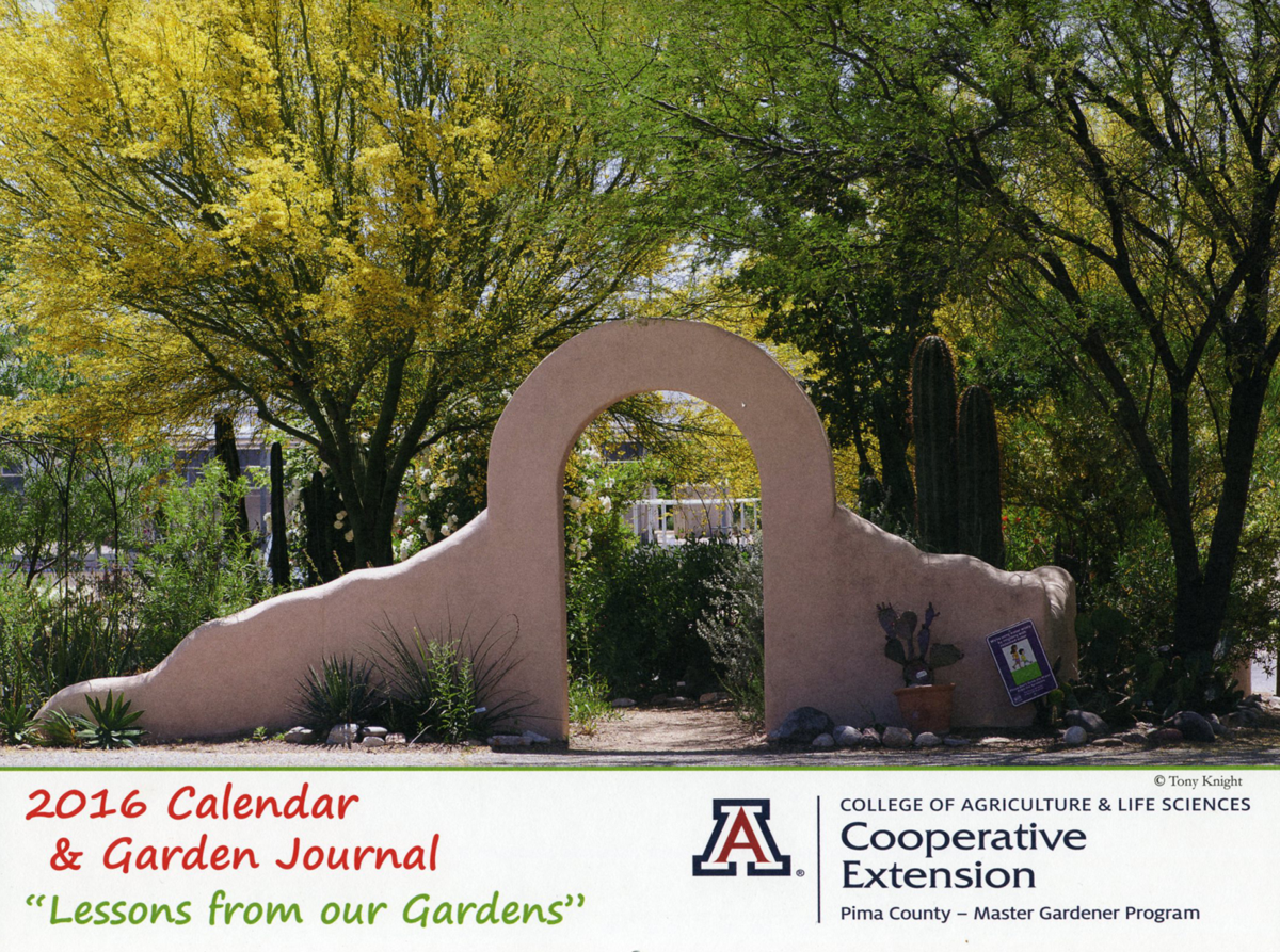 Master Gardeners' calendar and planting guide