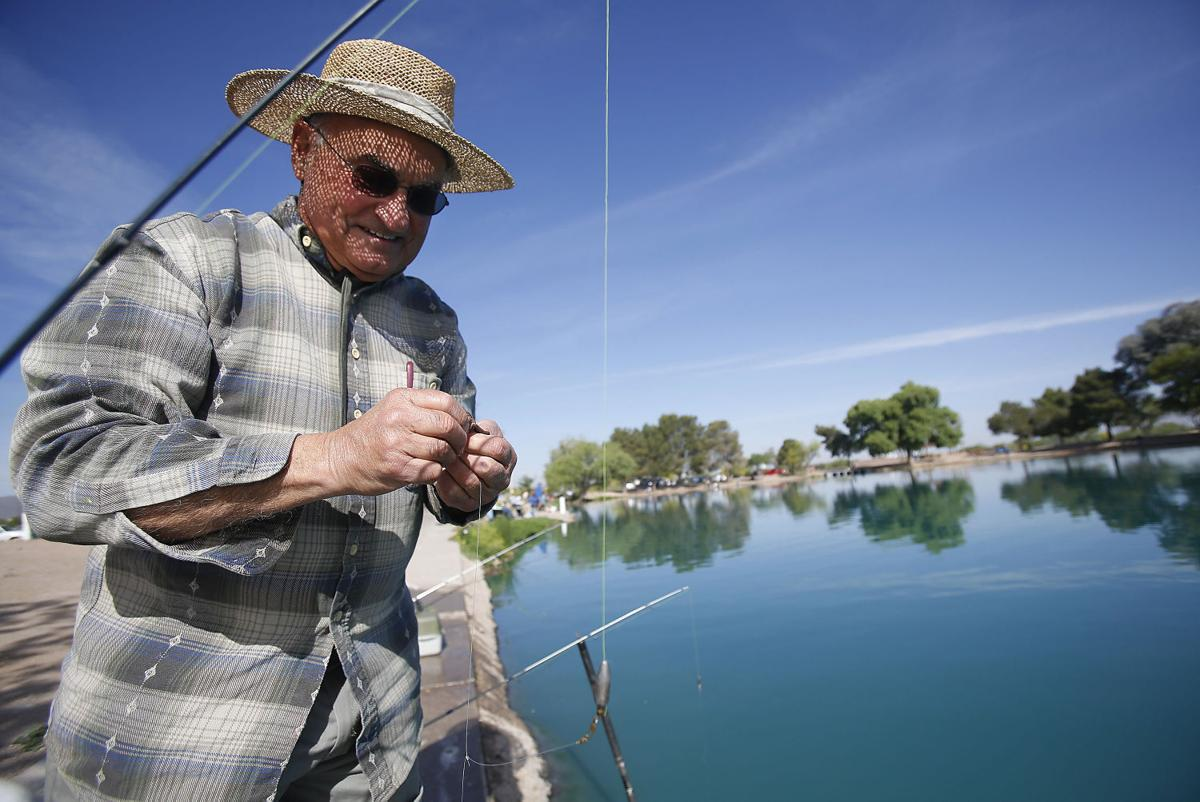 Photos catfish restocking local news for Fishing in tucson