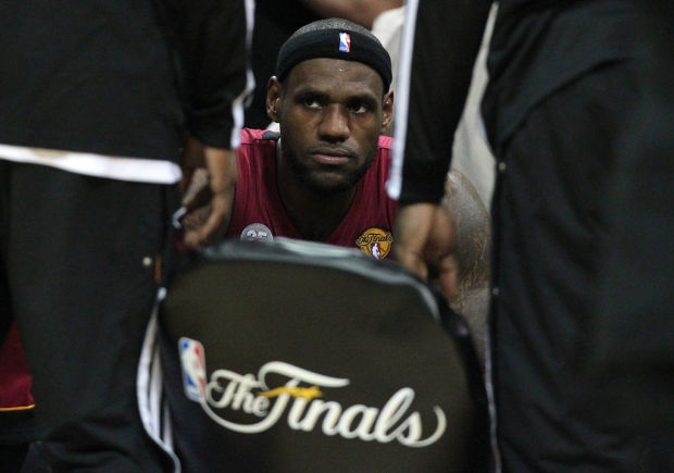 NBA Finals: LeBron vows to be better tonight