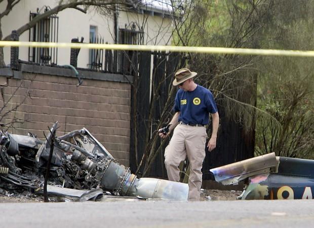 Federal investigators at the scene