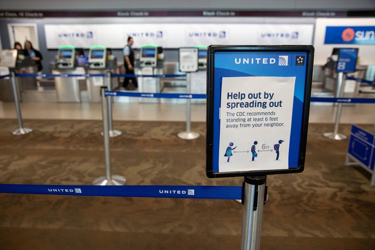 Tucson International Airport, coronavirus