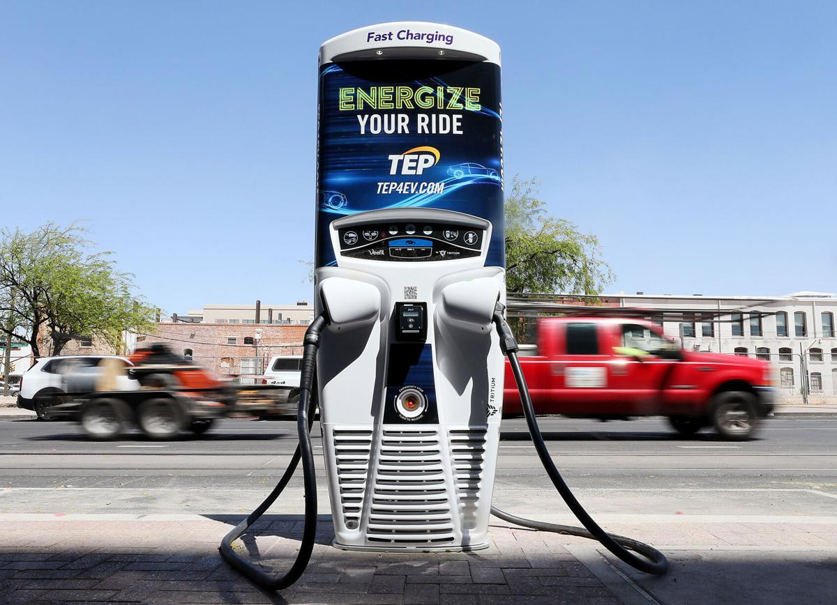 DC vehicle charging, Tucson, TEP