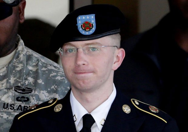 Pfc. Manning pleads guilty to 10 lesser WikiLeaks charges