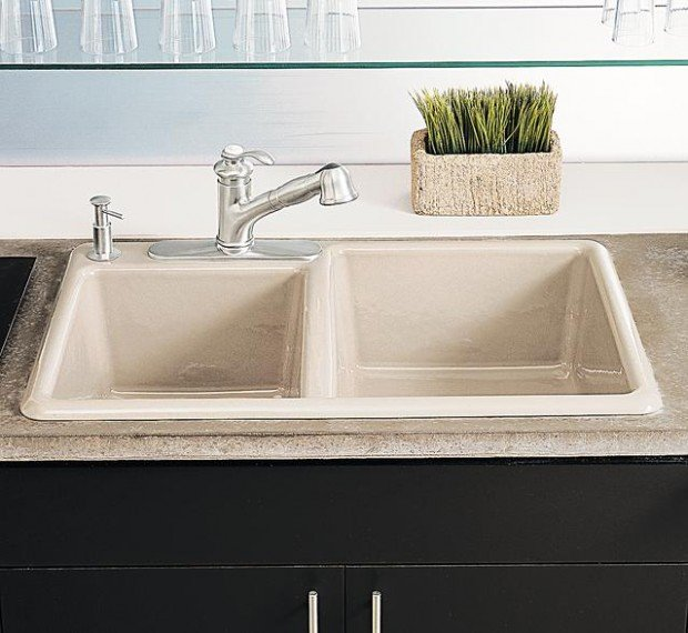 top mounted kitchen sinks the pros cons of undermount vs top mount sinks home 6301