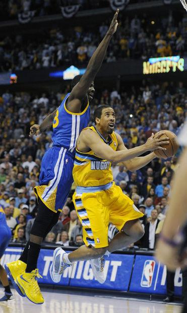 NBA playoffs: Miller's first winning shot lets Nuggets edge Warriors