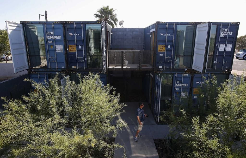 Shipping containers offer welcome homes in phoenix - Container homes chicago ...