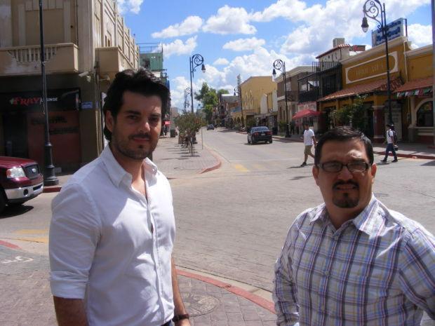 Jesus Pujol, left, and Luis Torres