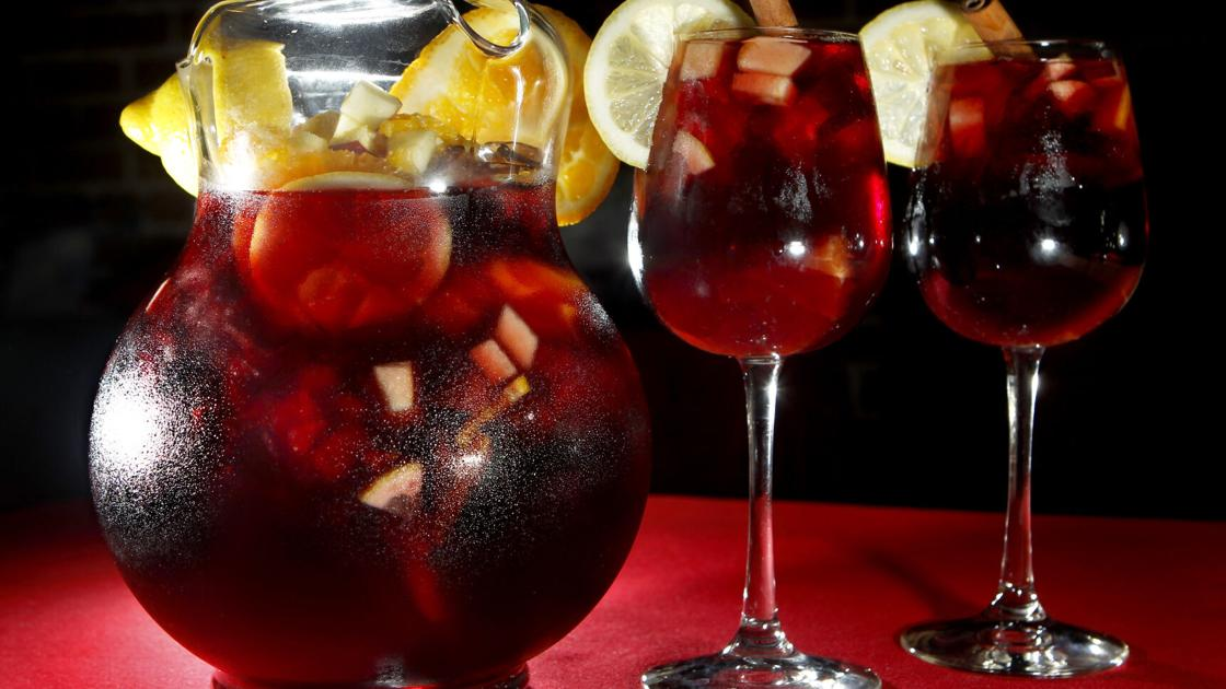 Mom's potent sangria brings back memories of a memorable party
