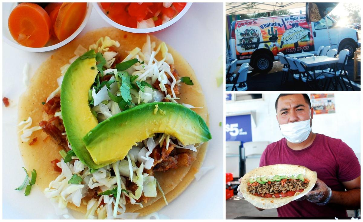 Southside taco collage