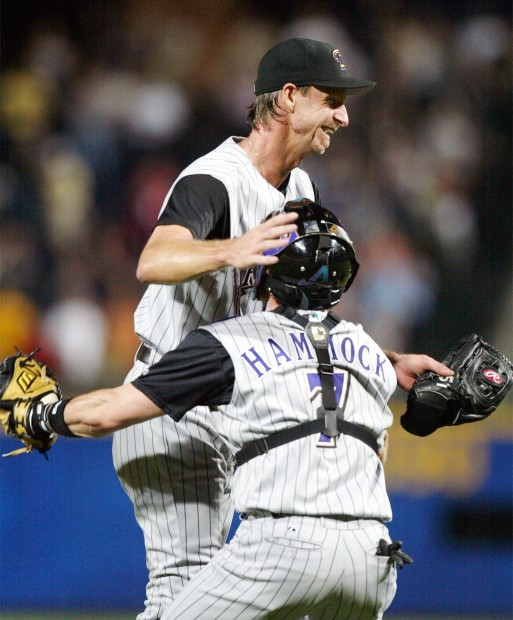 May 18, 2004: Randy Johnson pitches a perfect game