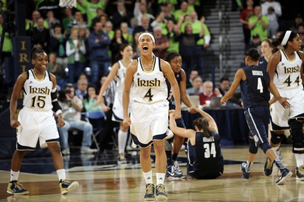 Top 25: Notre Dame beats UConn in 3OTs for Big East title