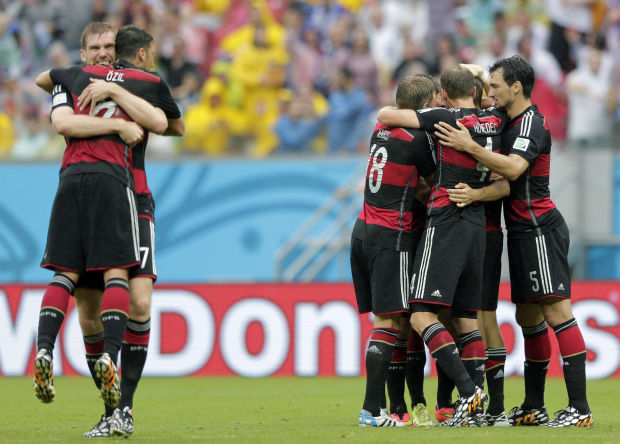 World Cup soccer: USA vs. Germany