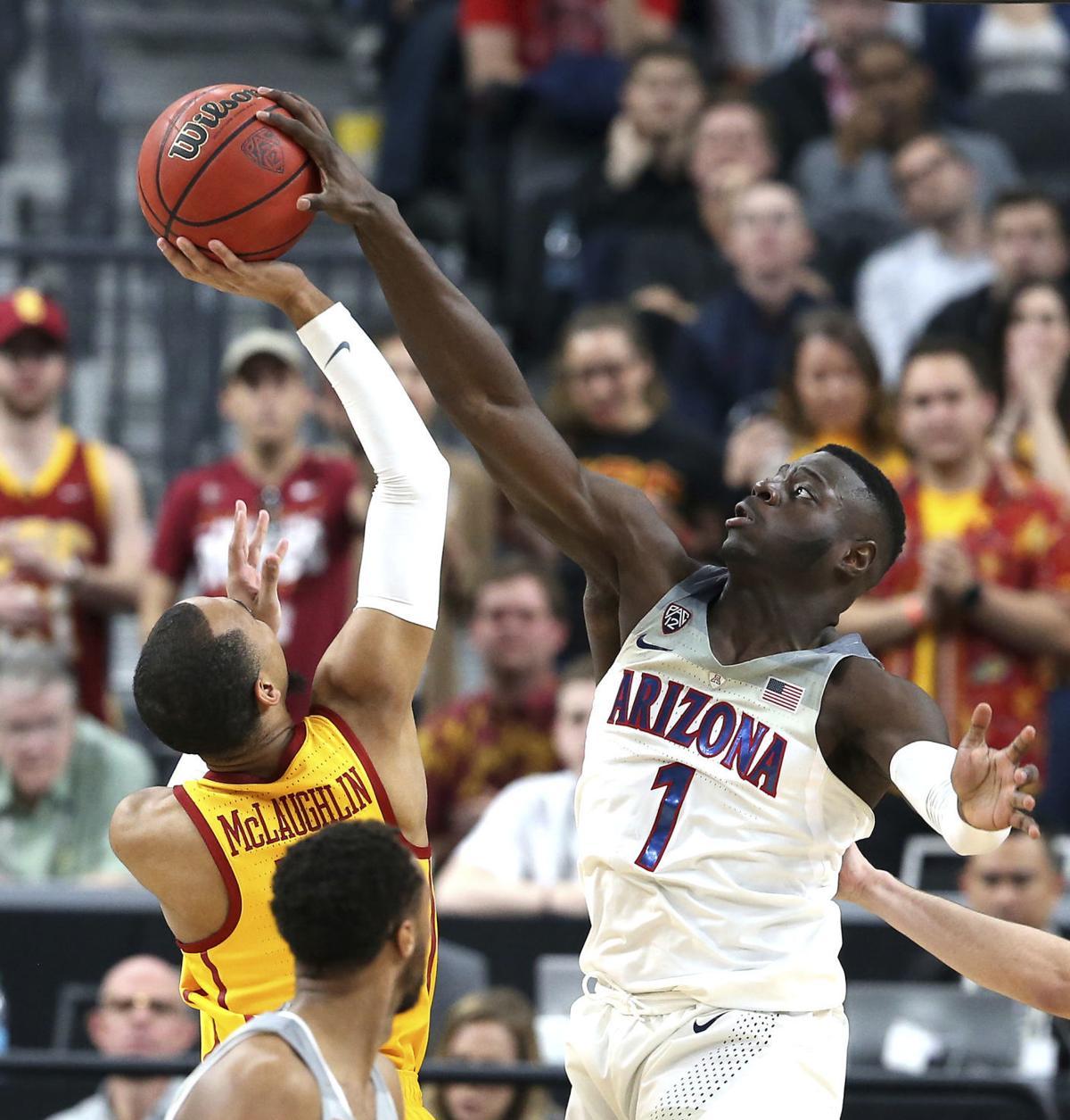 P12 USC Arizona Basketball