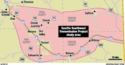 Bill on power-line routes raises concern