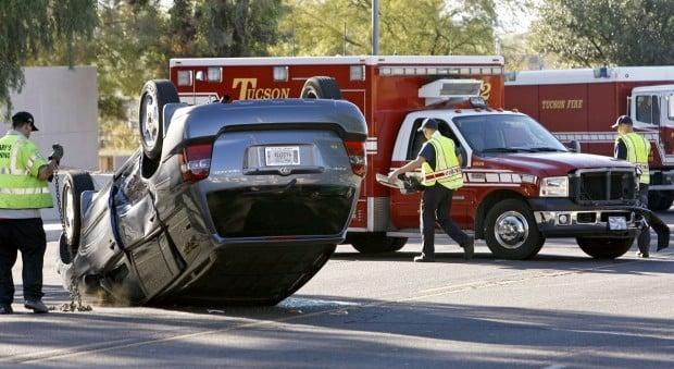 One person hurt in crash involving tucson fire vehicle local news one person hurt in crash involving tucson fire vehicle freerunsca Choice Image