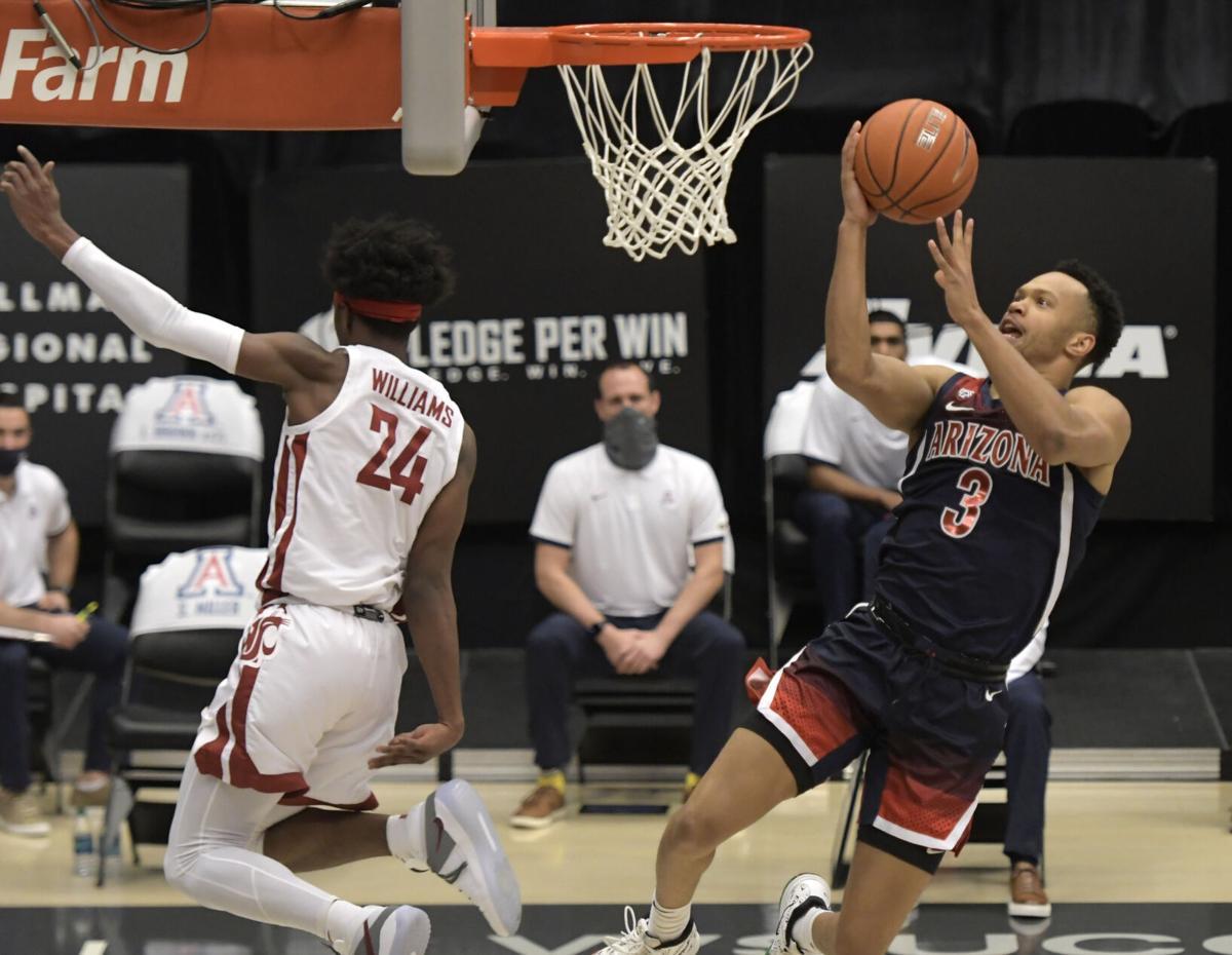Arizona Washington St Basketball