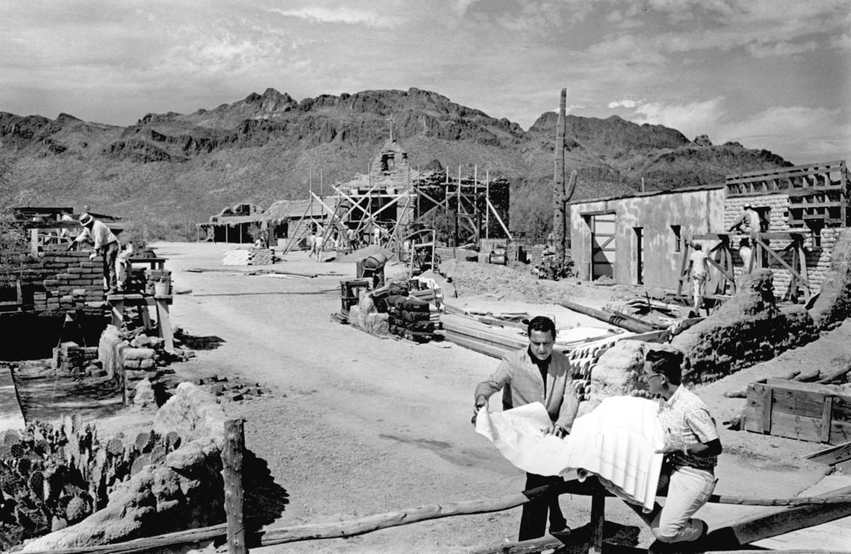 Robert Shelton, Old Tucson