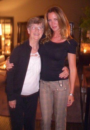 Kathryn Humphrey with her mom
